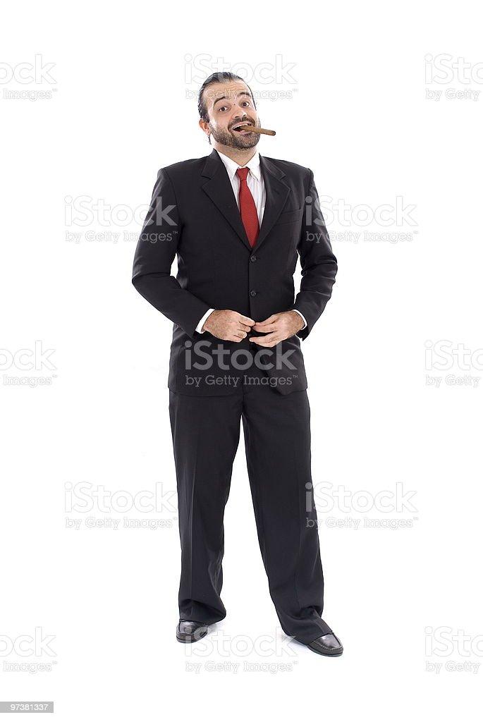 The Boss stock photo