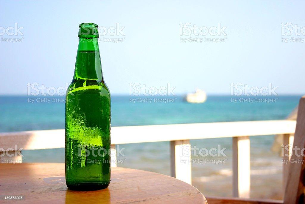 Der Flasche Lizenzfreies stock-foto