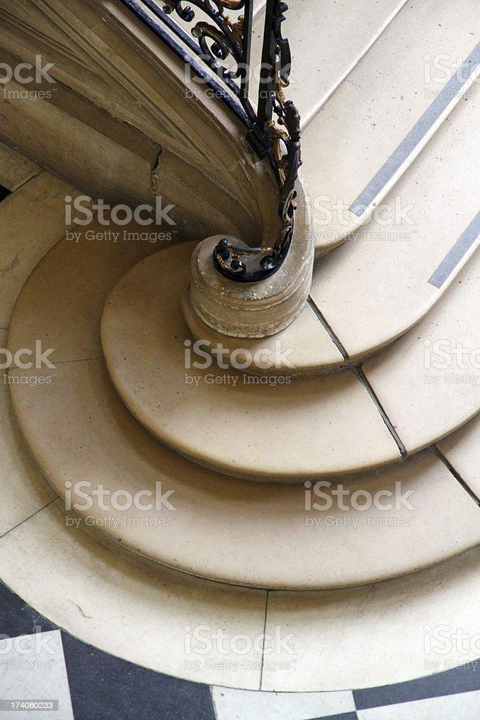 The Bottom Step stock photo