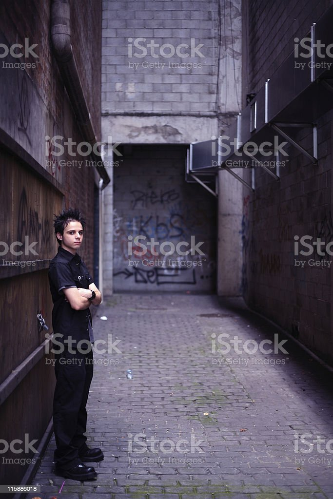The Bouncer stock photo