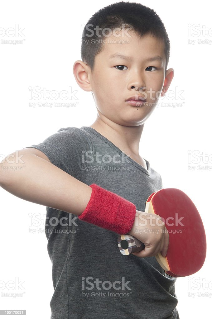 The boy and movement royalty-free stock photo