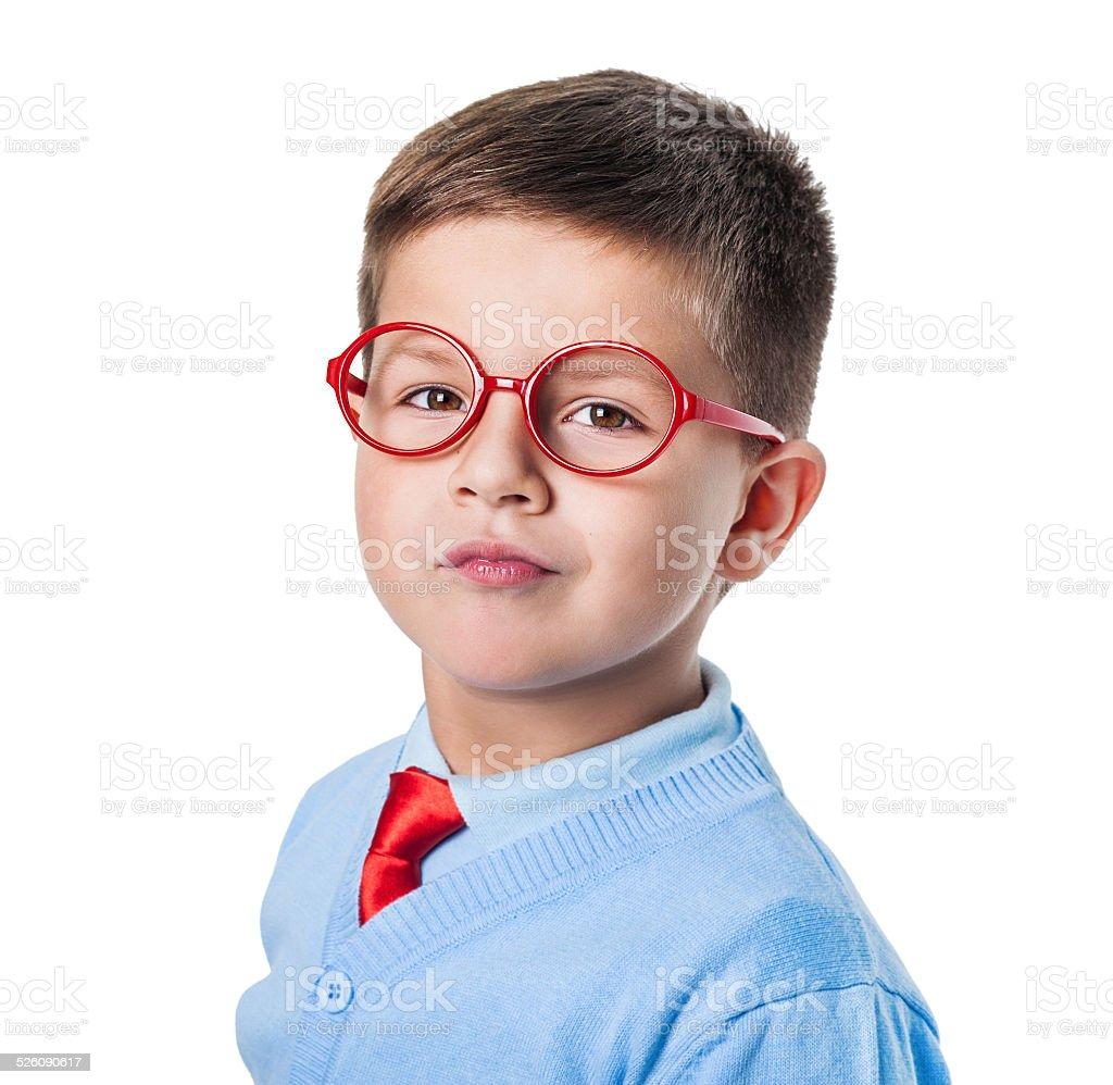 The boy stock photo