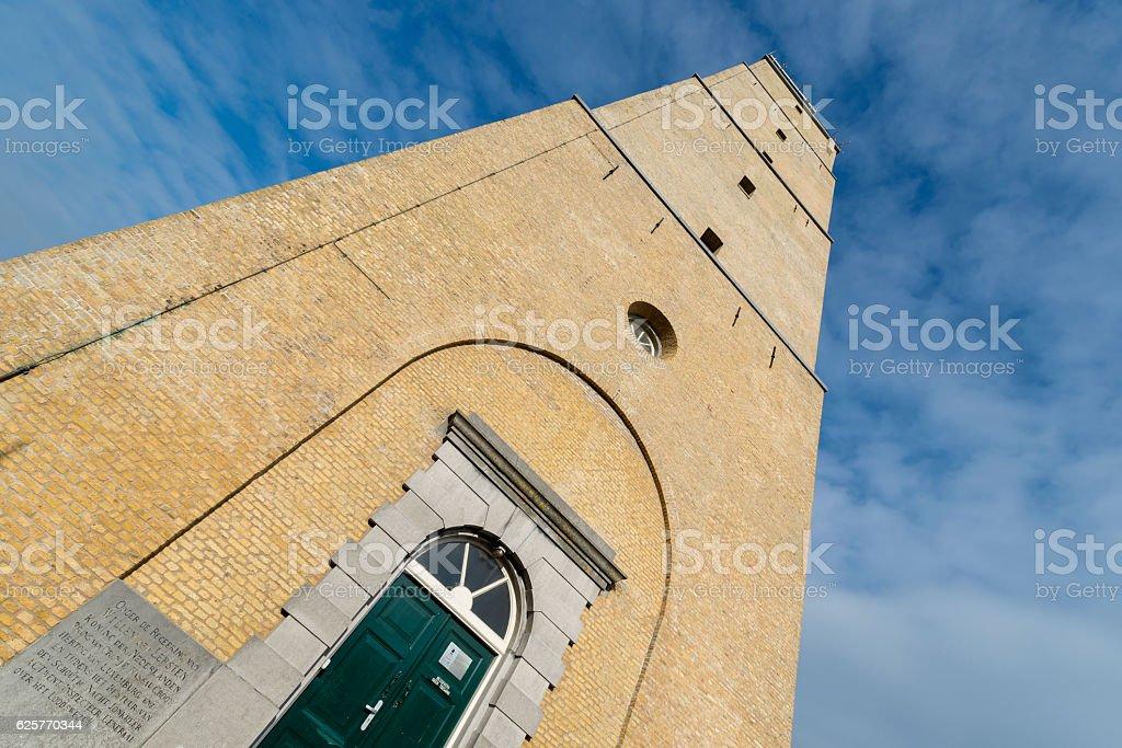 The Brandaris lighthouse on Terschelling . stock photo