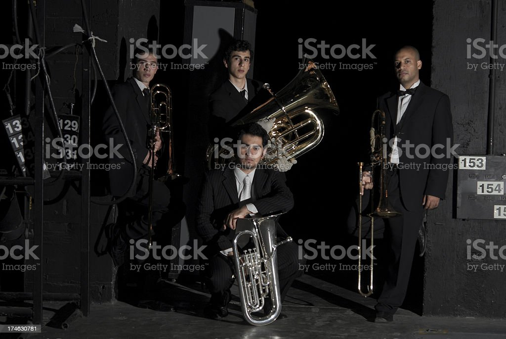 The brass caln stock photo