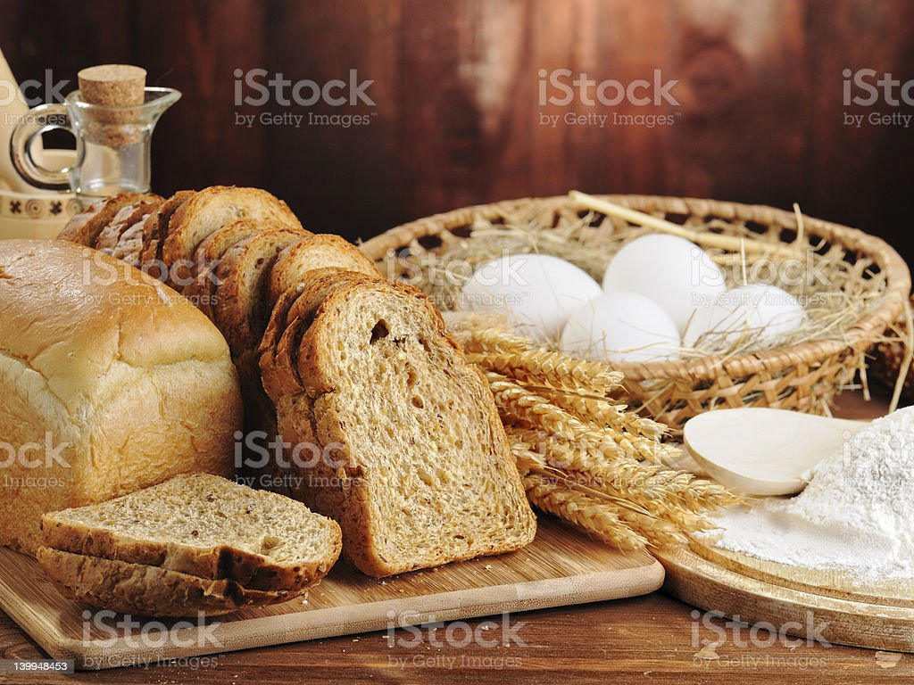 The Bread royalty-free stock photo