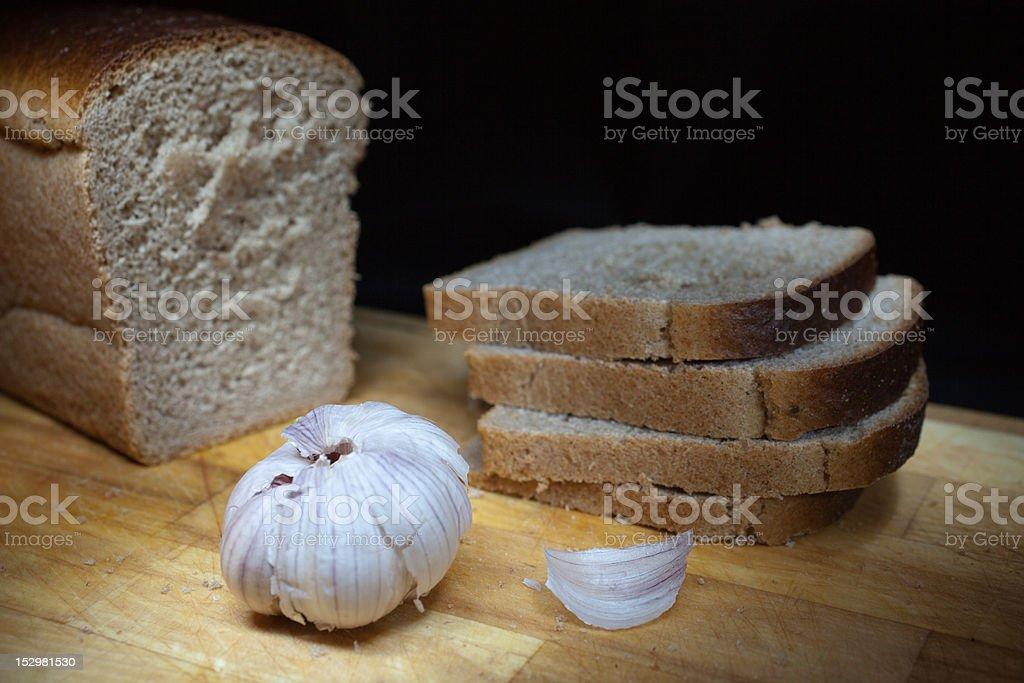 The Bread royalty-free stock photo