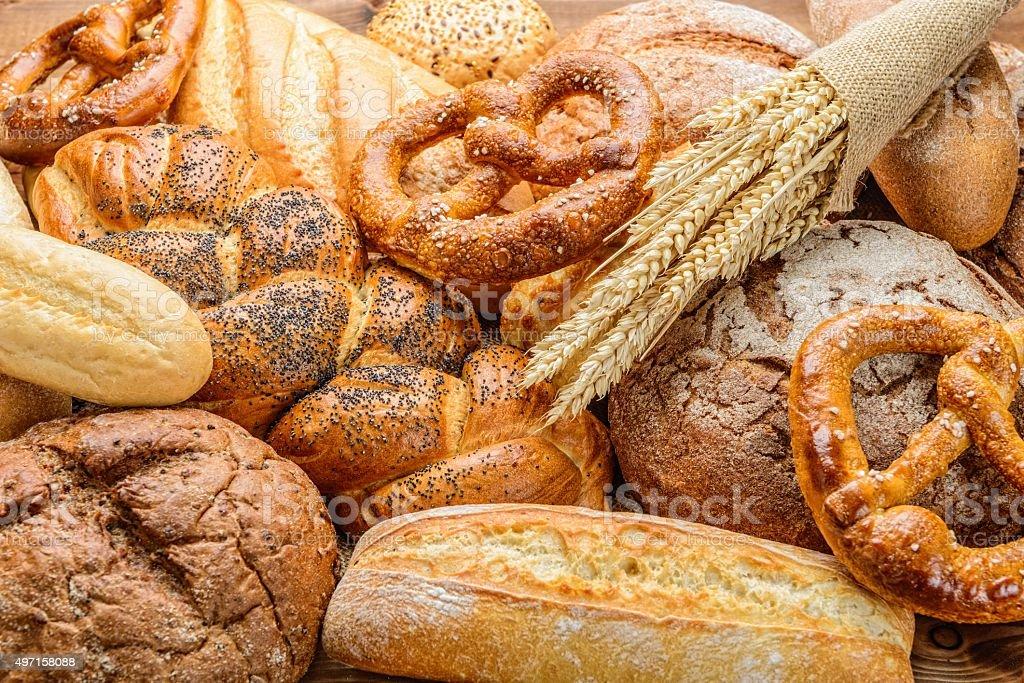 The bread stock photo