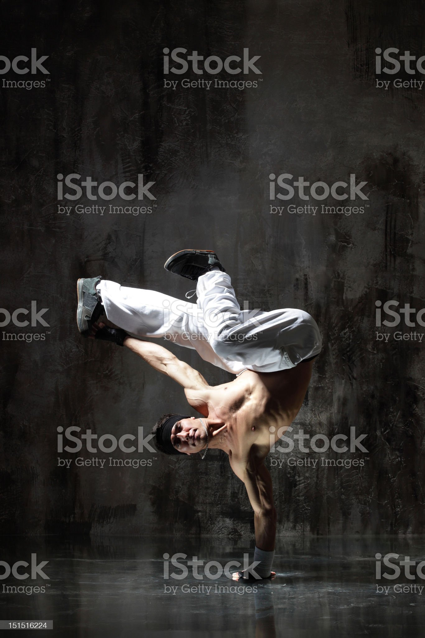 the breakdancer royalty-free stock photo