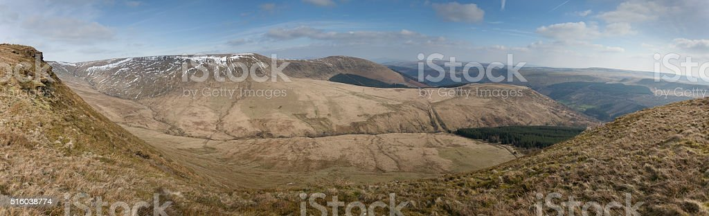 The Brecon Beacons stock photo