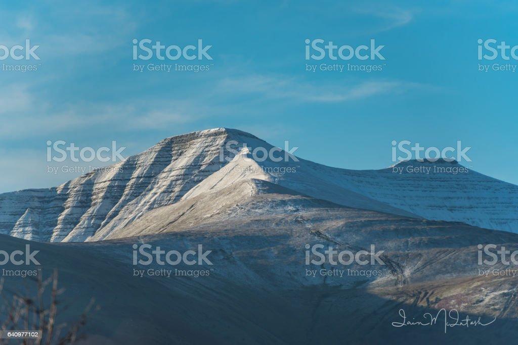 The Brecon Beacons stock photo