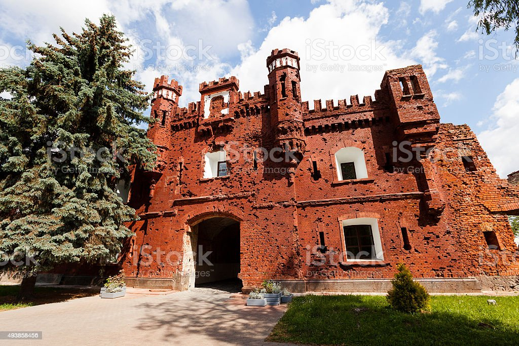 the Brest Fortress stock photo