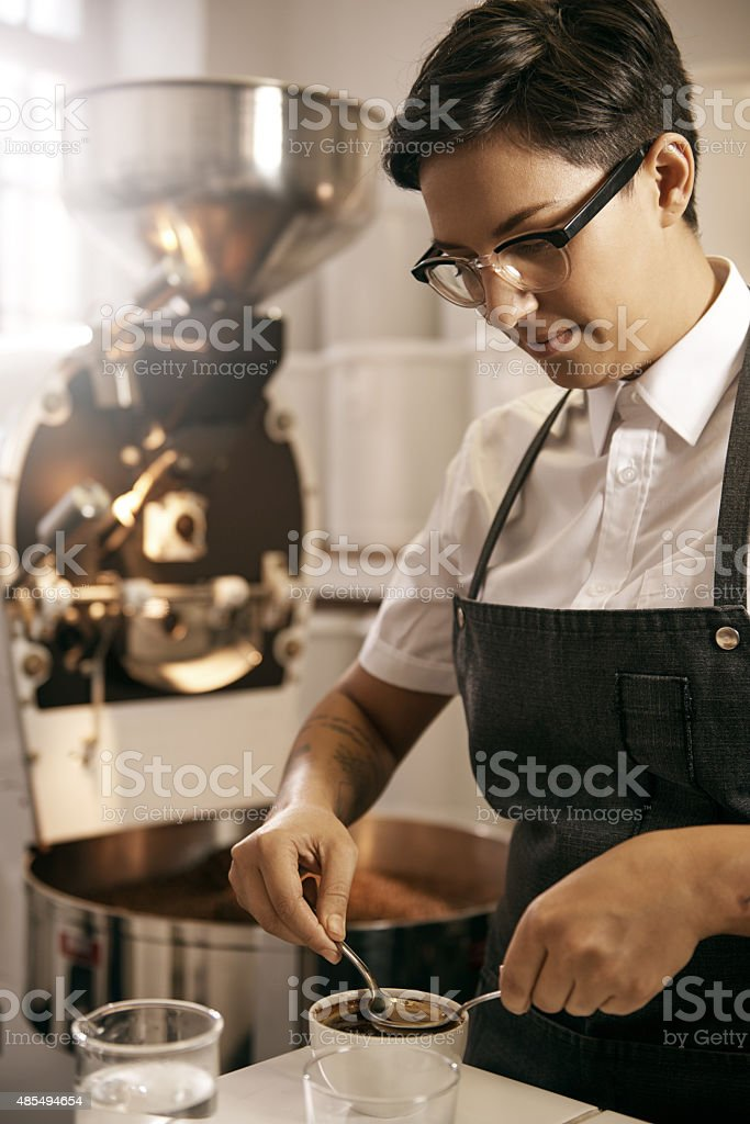 The brew that will see you through stock photo