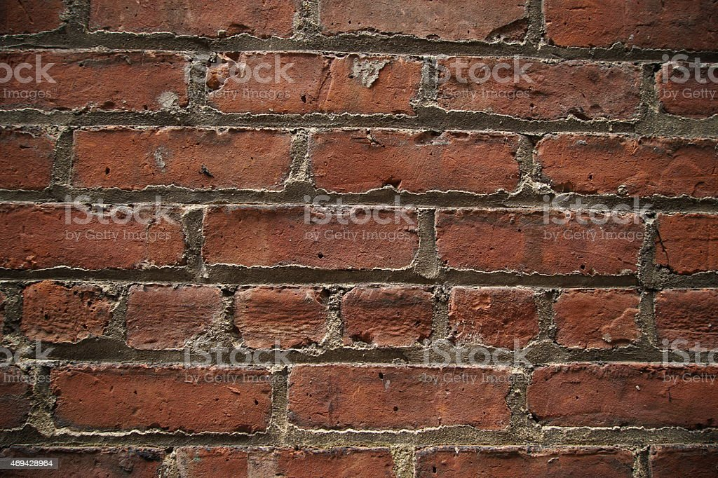 the bricks stock photo