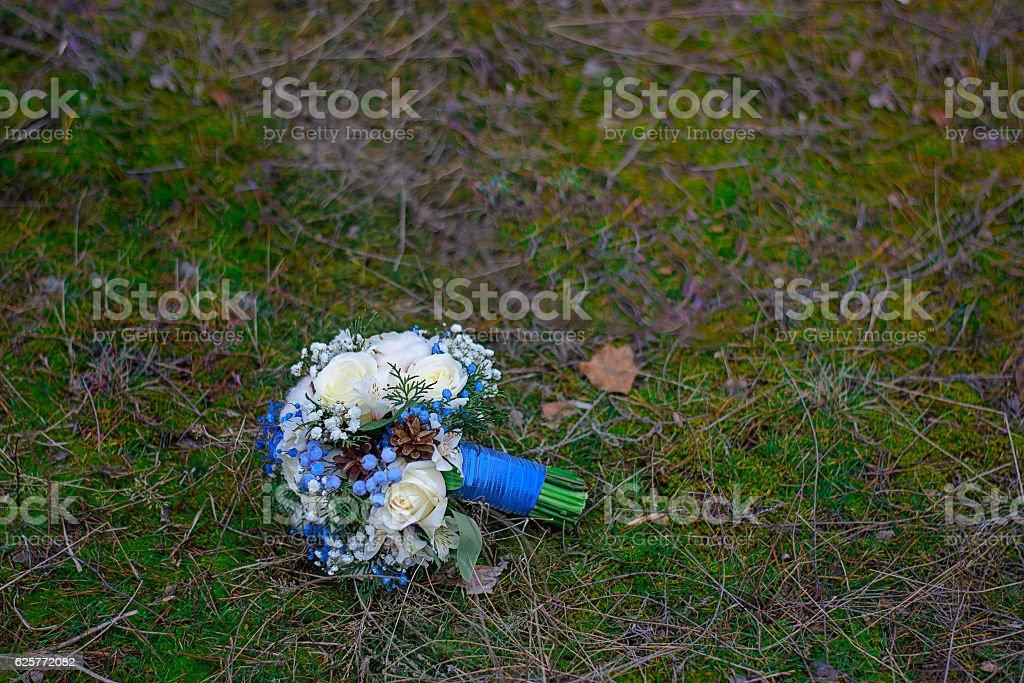 Il bouquet della sposa  foto stock royalty-free