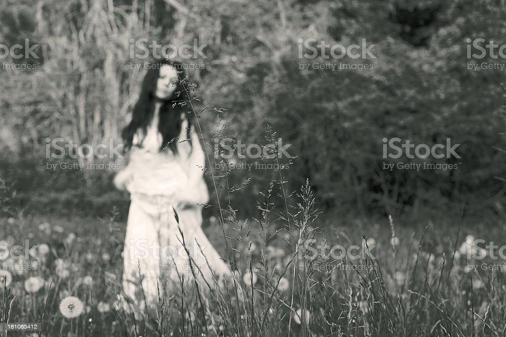 The Bride`s Spirit royalty-free stock photo
