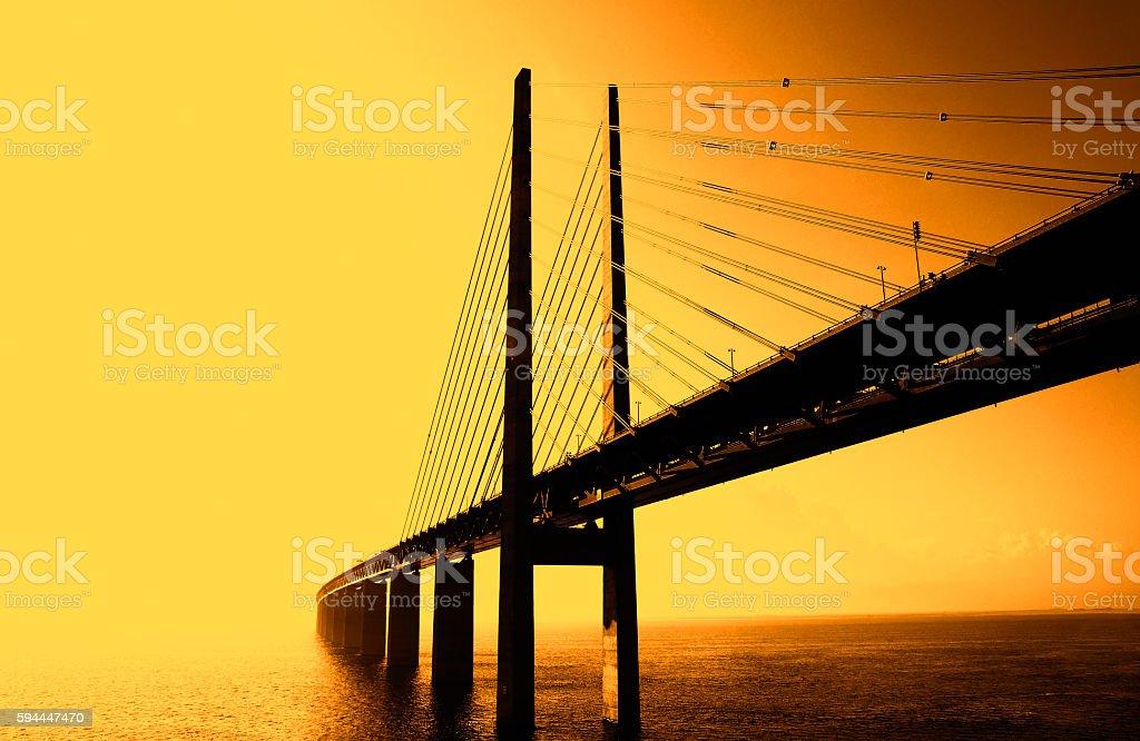 The Bridge - Die Brücke stock photo