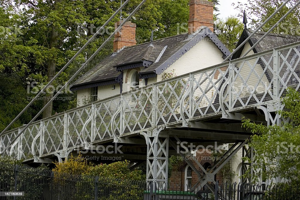 The Bridge House royalty-free stock photo
