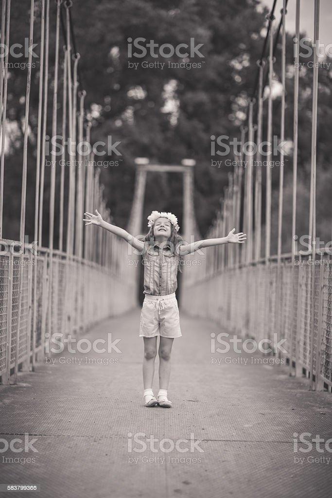 The bridge is mine stock photo