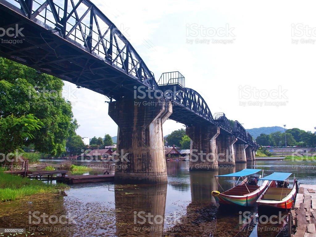 The bridge of the river kwai stock photo