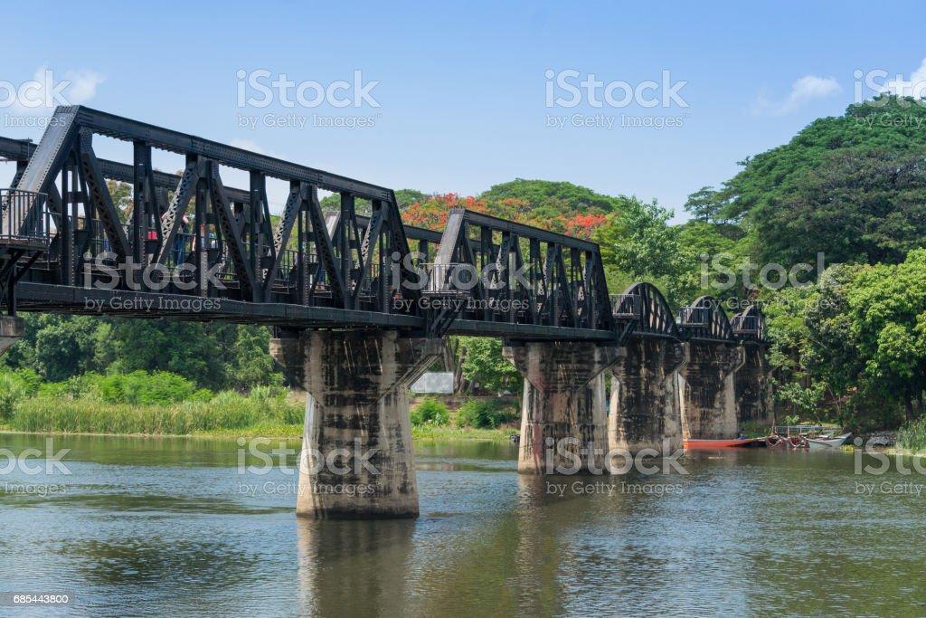 The Bridge of the River Kwai. stock photo
