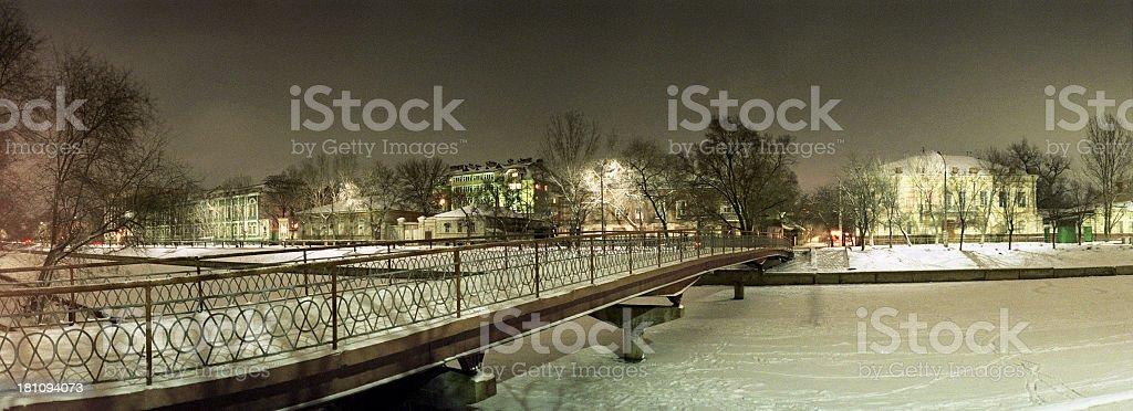 The bridge. stock photo