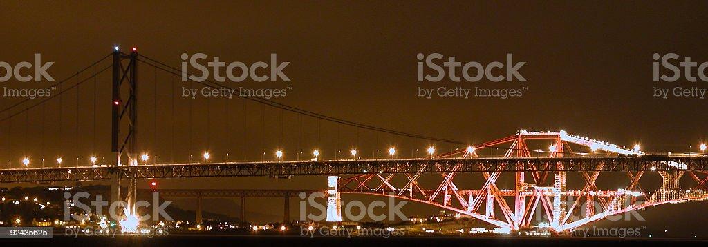 Les Bridges photo libre de droits