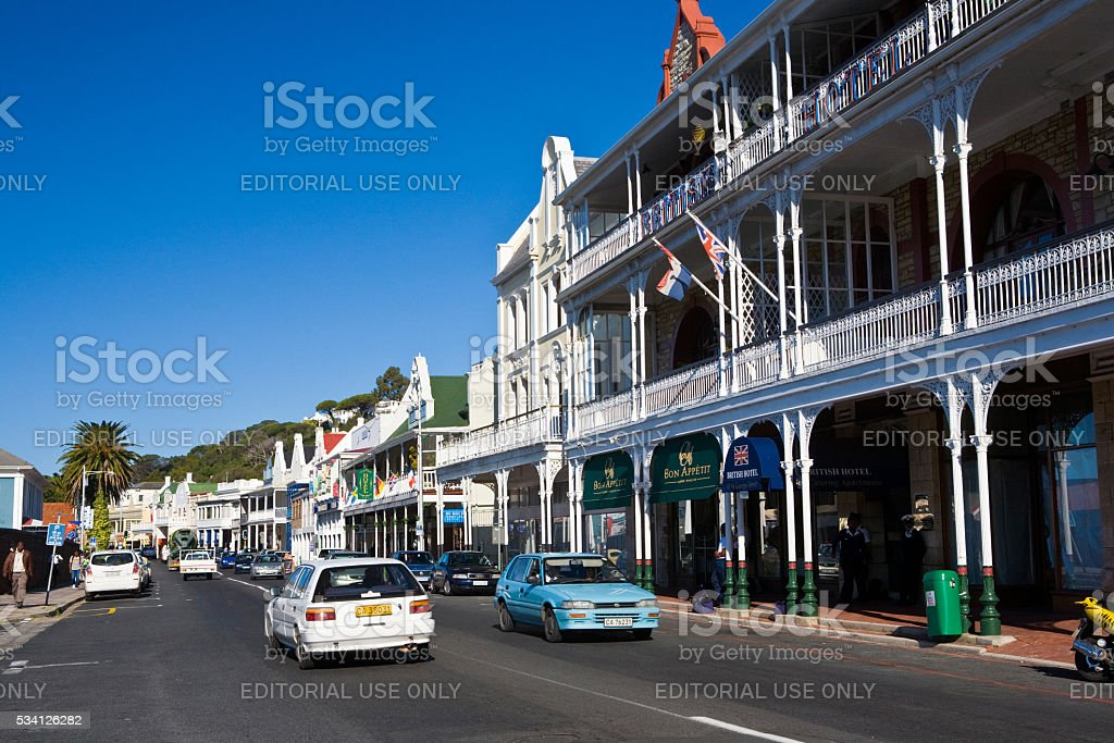 The British Hotel, Simon's Town, South Africa stock photo