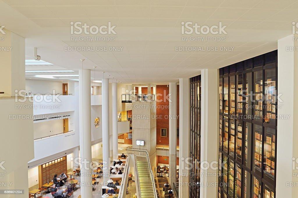 The British Library stock photo