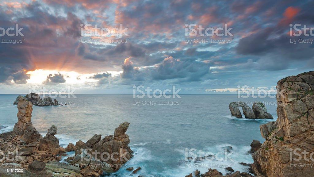 The Broken Coast stock photo