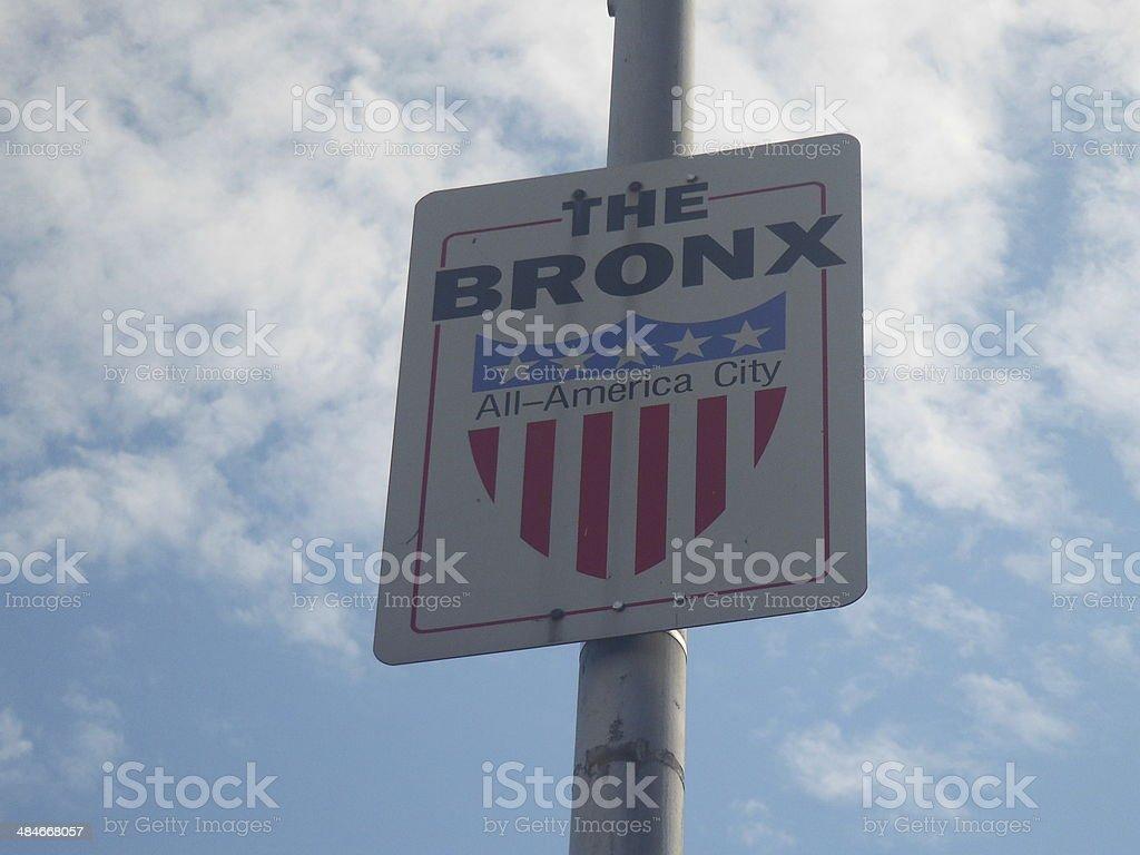 The Bronx stock photo