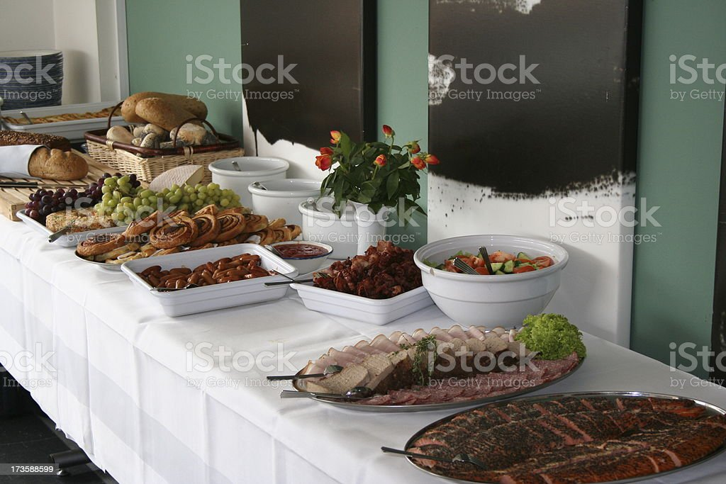 The Brunch stock photo