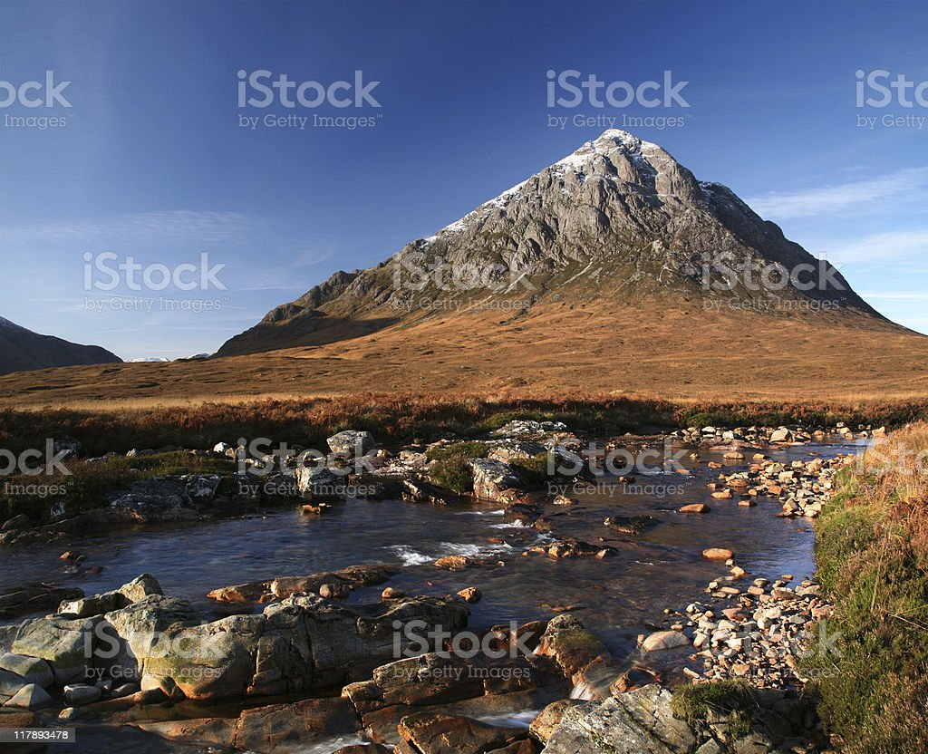 the buachaille stock photo