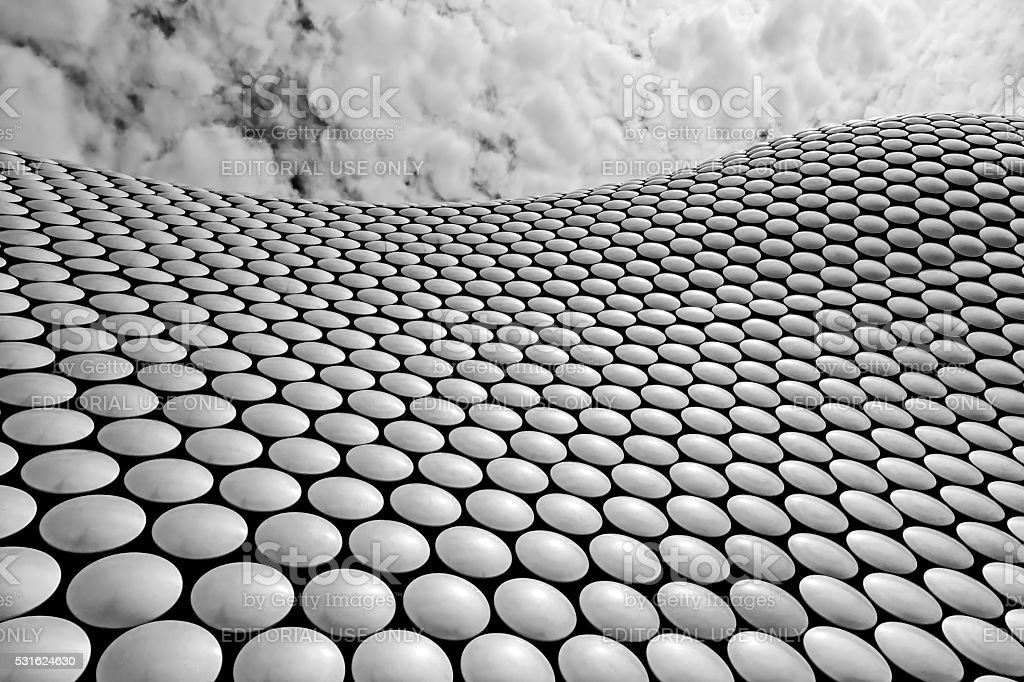 The Bullring Birmingham stock photo