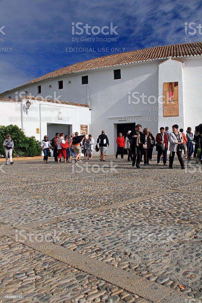 The Bullring, Ronda, Spain stock photo