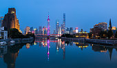 The Bund of Shanghai Panorama