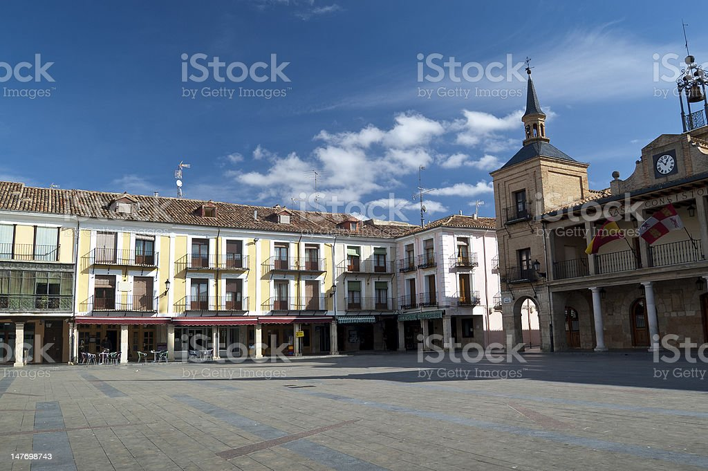 El Burgo de Osma royalty-free stock photo