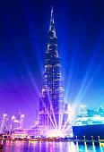 The Burj Khalifa skyscraper