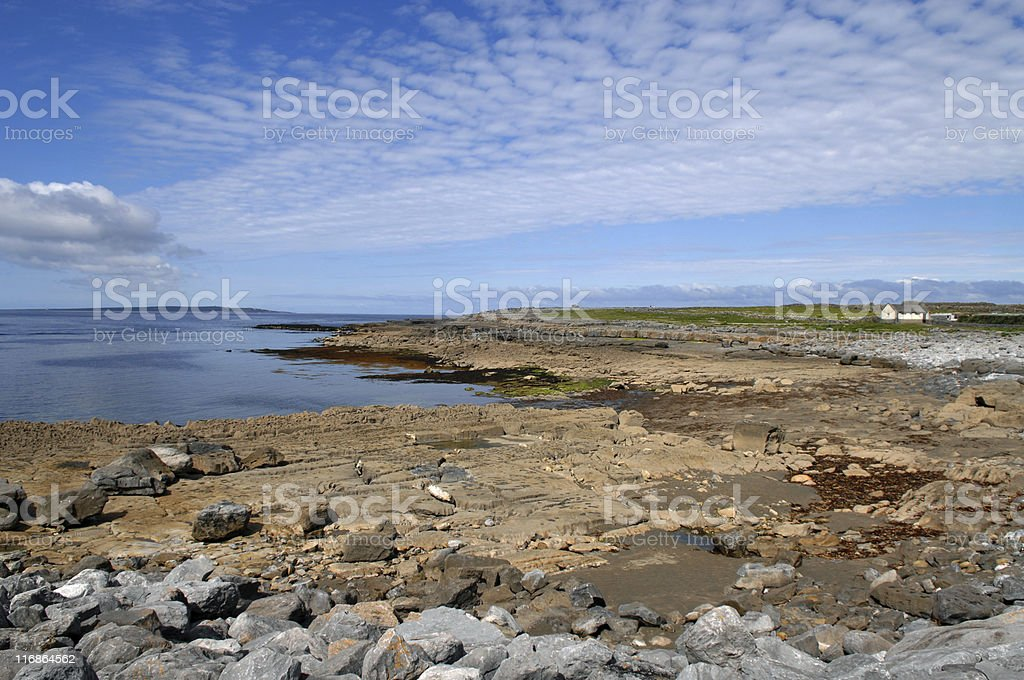 The Burren, County Clare, Republic of Ireland royalty-free stock photo
