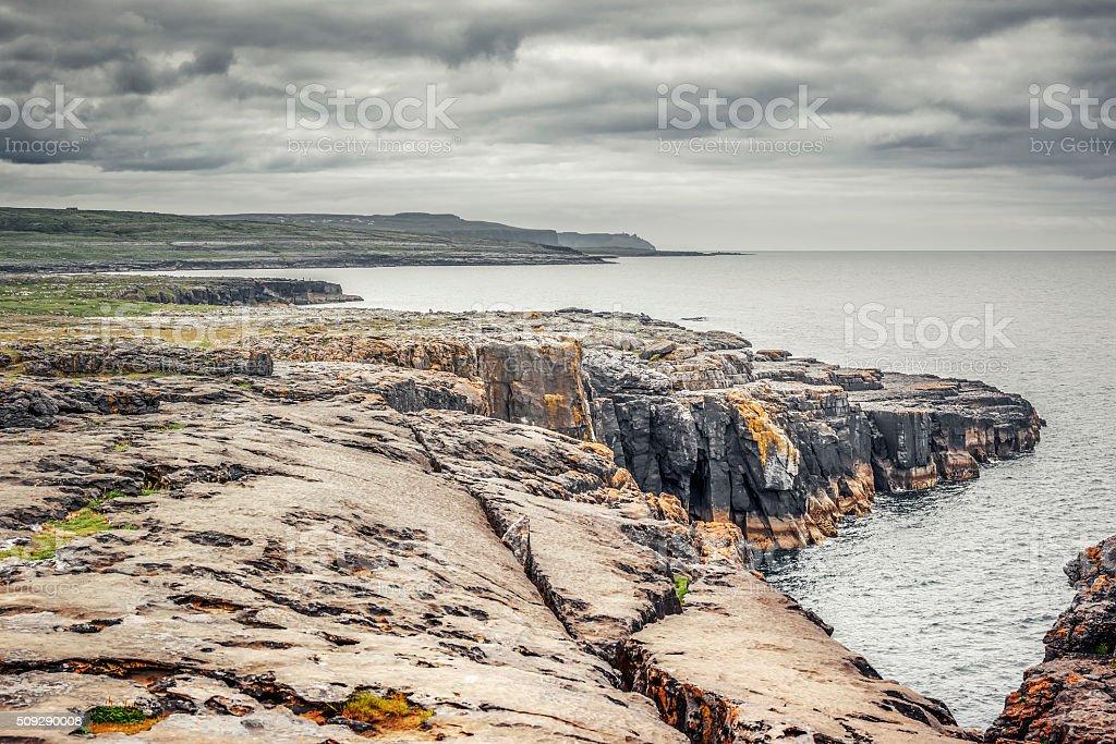 The Burren Ireland stock photo