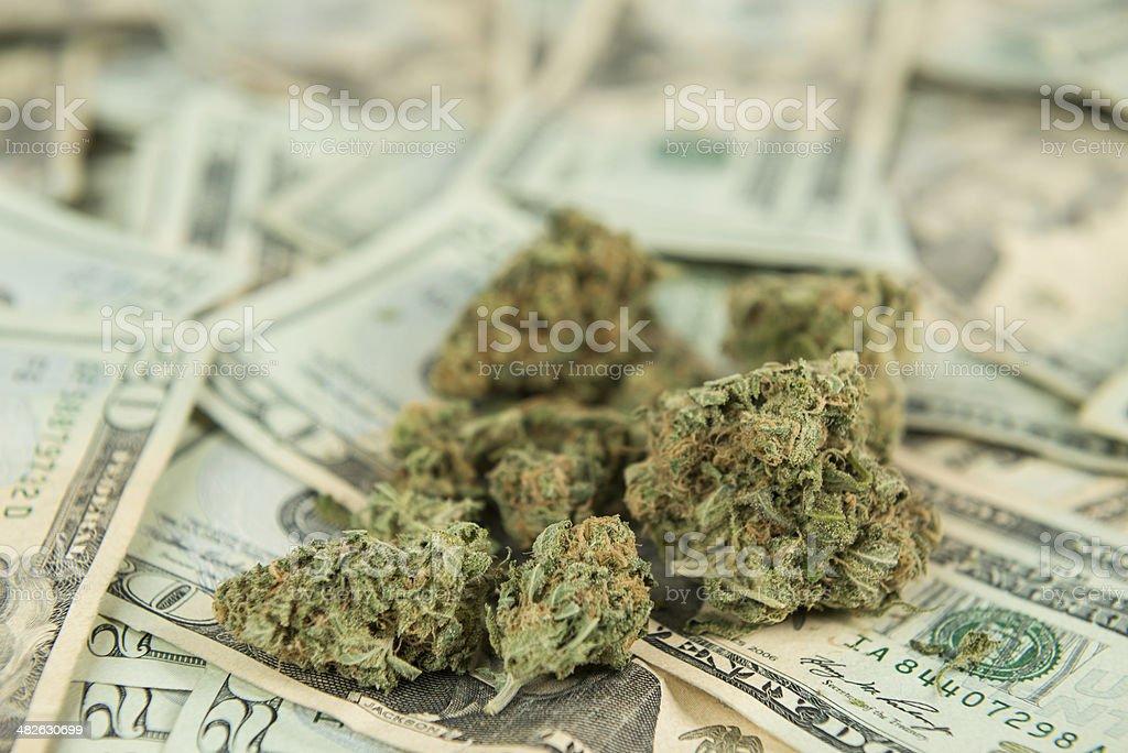 The Business of Marijuana stock photo