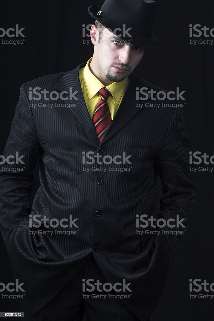 The businessman stock photo