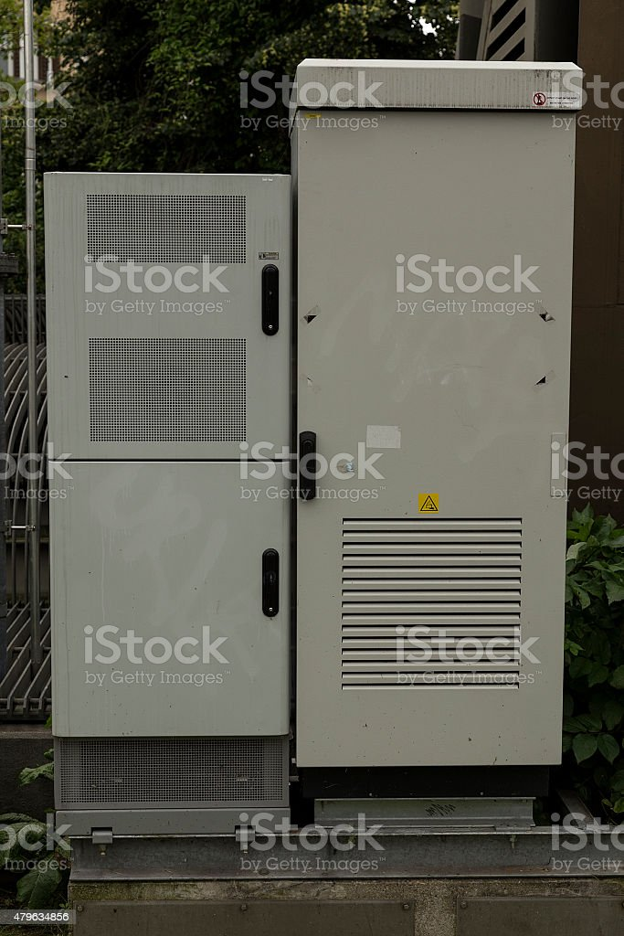 The cabinet royalty-free stock photo
