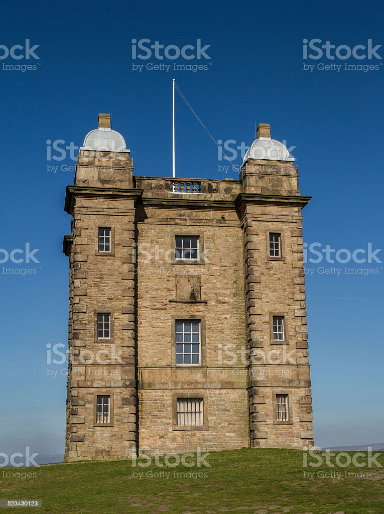 The Cage at Lyme Park stock photo