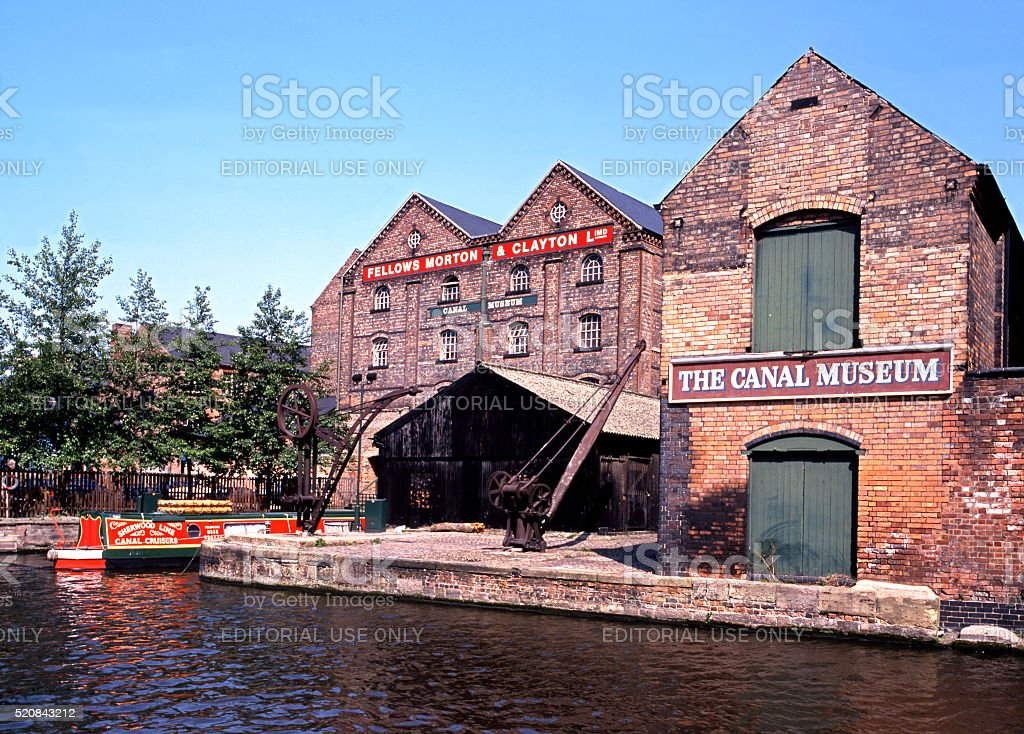 The Canal Museum, Nottingham. stock photo
