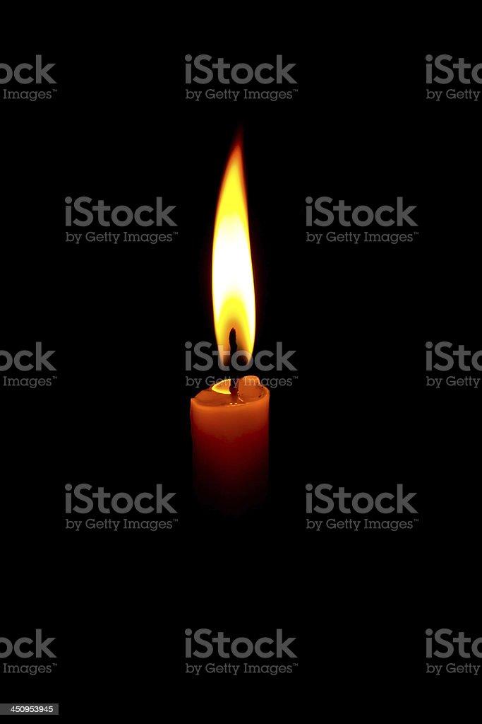La candela foto stock royalty-free