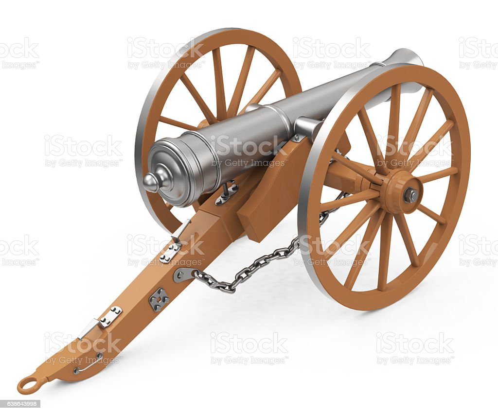the cannon stock photo