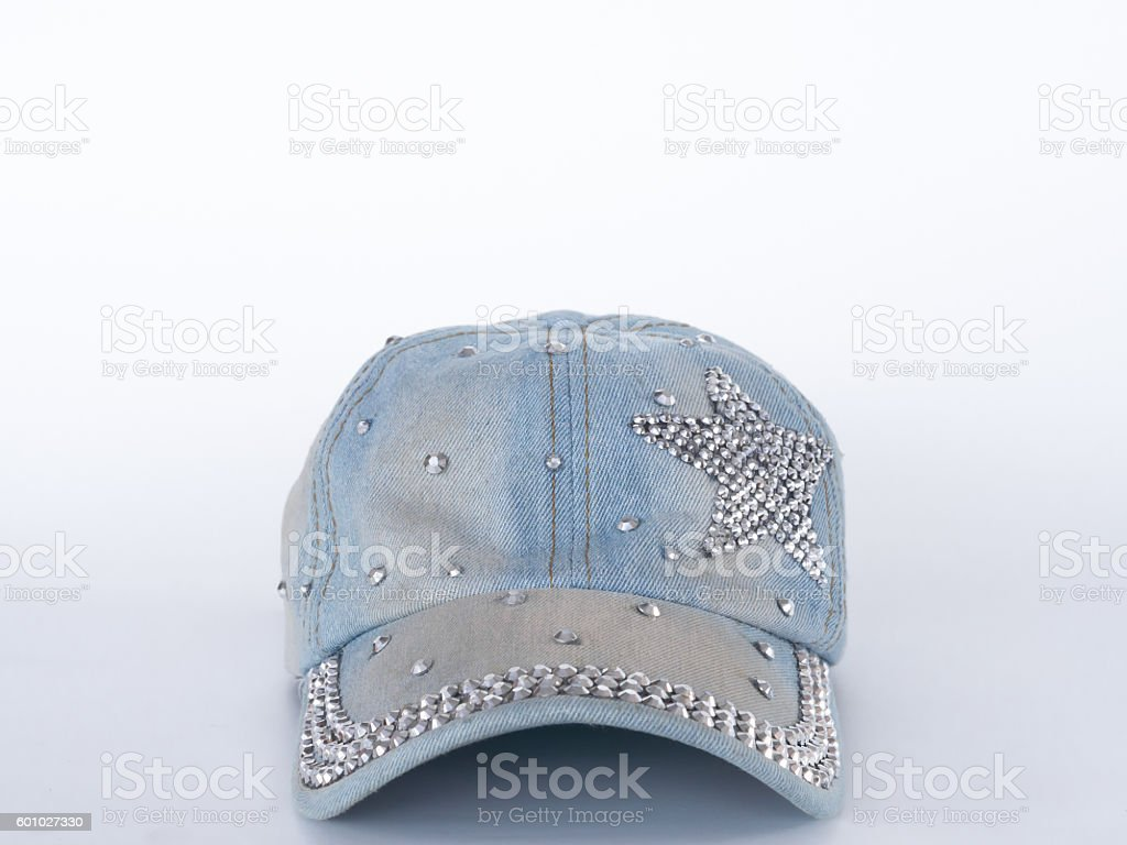The cap is made of cotton genes . stock photo