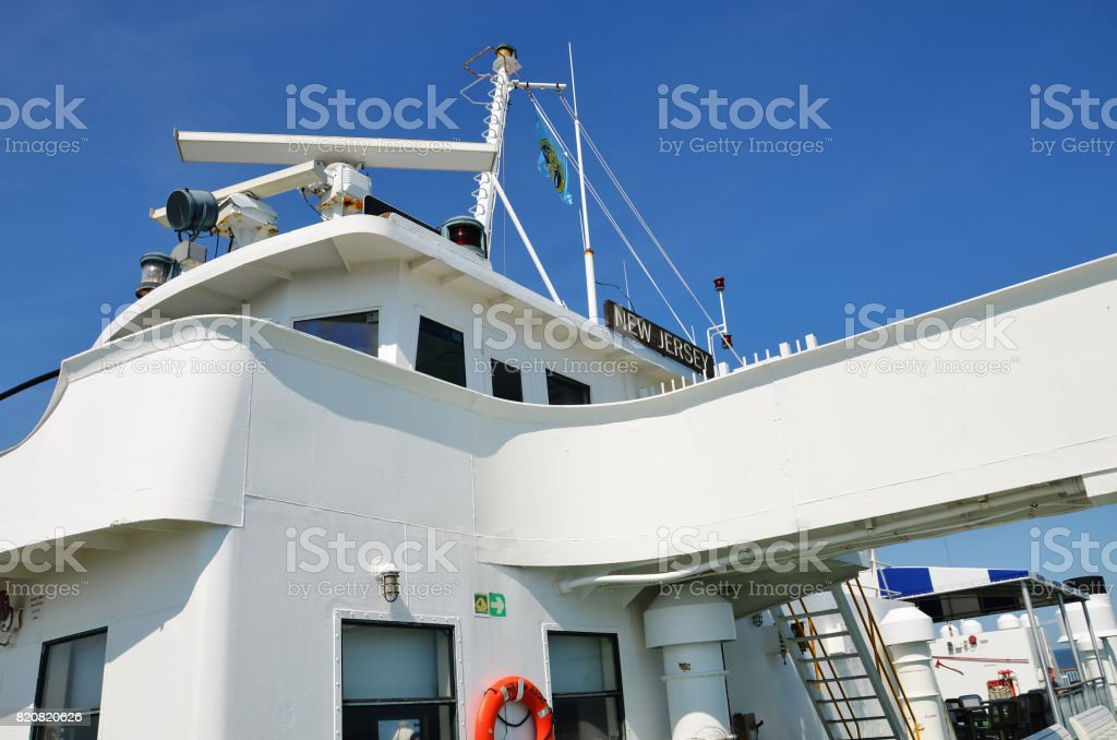 The Cape May Ferry, New Jersey stock photo