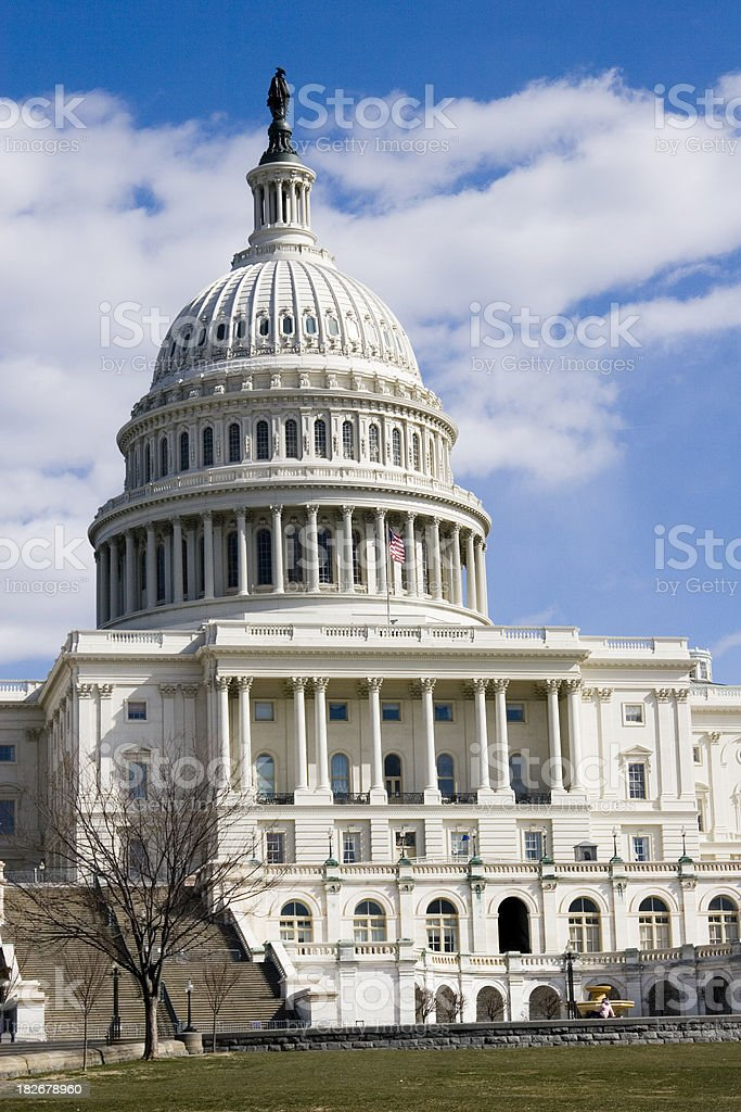 The Capital Building stock photo