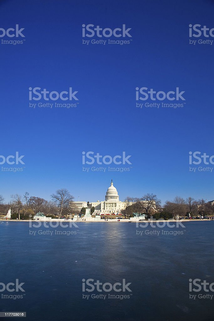The Capitol Building royalty-free stock photo
